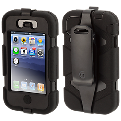 Griffin Survivor Extreme-Duty case for iPhone 4/4S - black