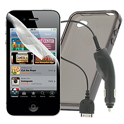 Apple iPhone 4/4S essential accessories pack
