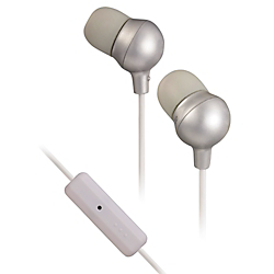 JVC Marshmallow headphones with inline mic  Silver