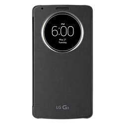 LG QuickCircle case for the LG G3  Black