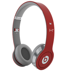 Beats by Dr. Dre Solo HD with ControlTalk Headphones - Red