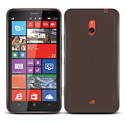 Orzly Gel Case for Nokia Lumia 1320 - Black
