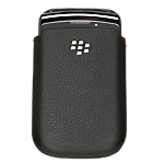 BlackBerry Bold 9700/9780 Leather pocket - Black