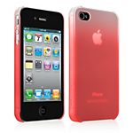 Belkin Polycarbonate Fade Case for iPhone 4/4S - Red