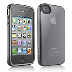 Belkin TPU Tinted Case for iPhone 4/4S - Black Smoke