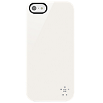 Belkin hard case for iPhone 5 - Glossy white