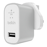 Belkin MixIt metallic home charger 2.4amp - Silver