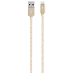 Belkin Premium 2.4-amp Lightning Cable - Gold