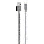 Belkin Premium 2.4-amp Lightning Cable - Grey