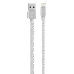 Belkin Premium 2.4-amp Lightning Cable - Silver