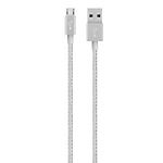 Belkin Premium MixIt Micro USB Cable - Silver