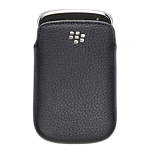 BlackBerry® 9900 leather pocket -Black