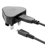 BlackBerry MicroUSB mains charger