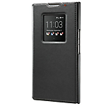 Blackberry Priv Leather Smart Flip Case Black