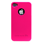 Case-Mate Barely There Case for iPhone 4/4S in Electric Pink