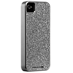 Case-Mate Glam Case for iPhone 4/4S - Silver