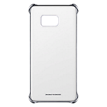 Clear Cover for Samsung Galaxy S6 edge+ (Silver)