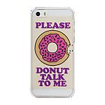 CPW iPhone SE/5s/5 Fashion case -  Donut Talk