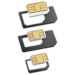 CPW micro & nano SIM Adapter 3 Pack