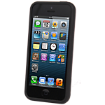 Dynex flexible case for iPhone 5 - Black