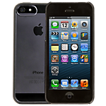Dynex ultra-thin hard case for iPhone 5 - Clear