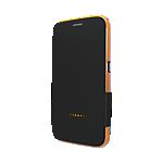 Gear4 BookCase for Samsung S6 Black Orange