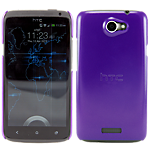 HTC One X Ultra Thin Hard Shell - Purple