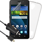 Essential accessories bundle for Huawei Y635