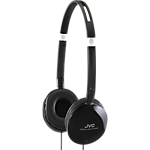 JVC HA-S150 Flats headphones - Black