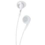 JVC Gumy headphones - White