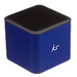KitSound Cube portable speaker - Blue