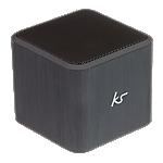KitSound Cube portable speaker - Silver