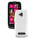 Nokia Lumia 610 soft case - White