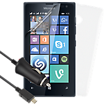 Essential accessories bundle for Microsoft Lumia 435