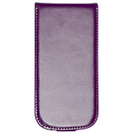 Orbyx leather flip case for Galaxy SIII mini - Purple