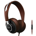 Philips City Scape Over-ear Headphones - Black