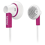 Philips SHE3000 in-ear headphones - Pink
