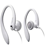 Philips SHS3200 in-ear hook headphones - White