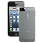 Pro-Tec Quilted Glacier case for iPhone 5 - Clear
