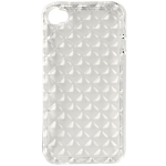 Rocketfish Flexible case for iPhone 4/4S - Clear