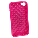 Rocketfish Flexible case for iPhone 4/4S - Pink
