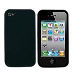 Rocketfish Silicone Case for iPhone 4/4S- Black