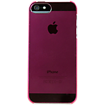 Rocketfish ultra-thin hard case for iPhone 5 - Pink