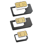 Rocketfish SIM adapter - 3 pack