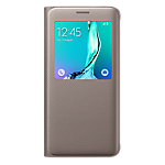 S View Cover for Samsung Galaxy S6 edge+ (Gold)