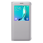 S View Cover for Samsung Galaxy S6 edge+ (Silver)