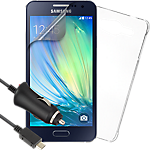 Essential accessories bundle for Samsung Galaxy A3