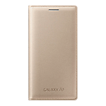 Samsung Galaxy A3 Flip cover - Gold