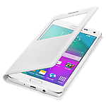 Samsung A5 S-View Cover - White