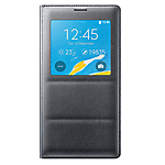 Samsung Note 4 S-View Cover - Black